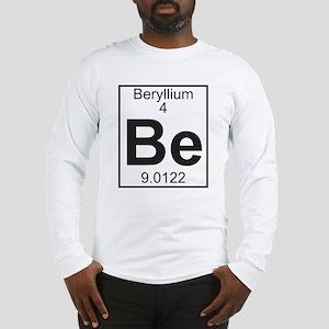 Element 4 - Be (beryllium) - Full Long Sleeve T-Sh