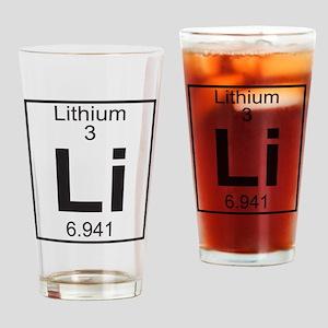 Element 3 - Li (lithium) - Full Drinking Glass