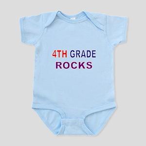 4TH GRADE ROCKS Body Suit
