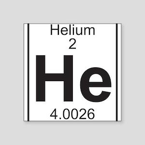 Periodic table helium stickers cafepress element 2 he helium full sticker urtaz Images
