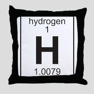 Element 1 - H (hydrogen) - Full Throw Pillow