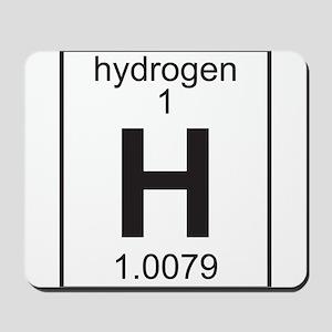 Element 1 - H (hydrogen) - Full Mousepad