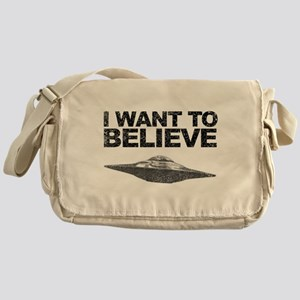 I want to Believe Messenger Bag