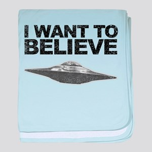 I want to Believe baby blanket