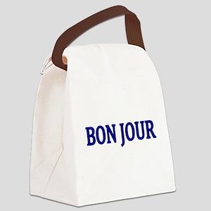 BON JOUR Canvas Lunch Bag