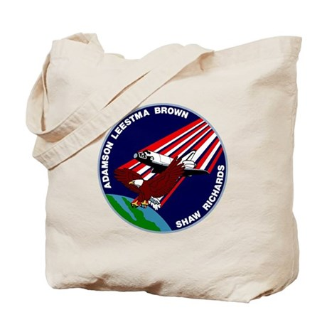 STS 28 Columbia Tote Bag