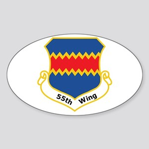 55th Wing Oval Sticker