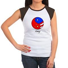 Amy Women's Cap Sleeve T-Shirt
