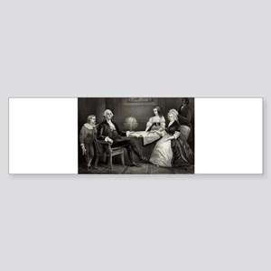 Washington at home - 1867 Sticker (Bumper)
