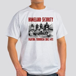 Homeland Security Ash Grey T-Shirt