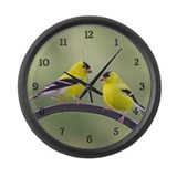 Finches Wall Clocks