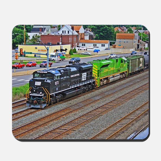 Norfolk Southern Heritage. Mousepad