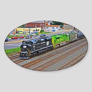 Norfolk Southern Heritage. Sticker (Oval)