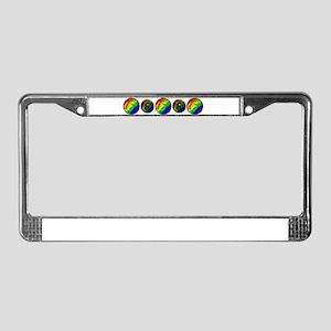 Leo - License Plate Frame