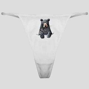 Pocket Black Bear Classic Thong