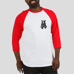 Pocket Black Bear Baseball Jersey