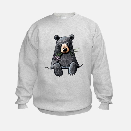 Pocket Black Bear Sweatshirt