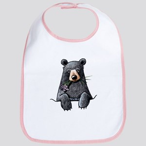 Pocket Black Bear Bib