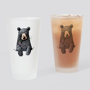 Pocket Black Bear Drinking Glass