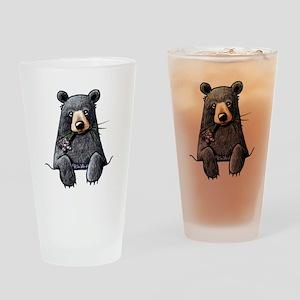 Pocket Black Bear Drinking Glass