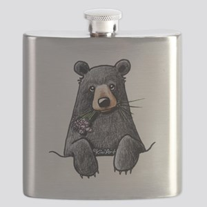 Pocket Black Bear Flask