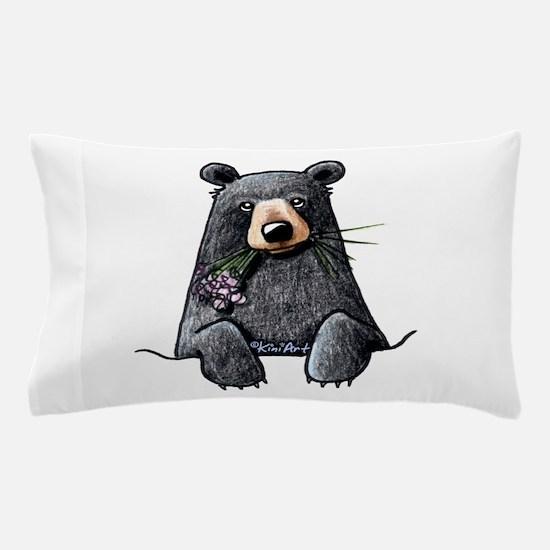 Pocket Black Bear Pillow Case