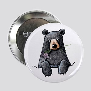 "Pocket Black Bear 2.25"" Button"