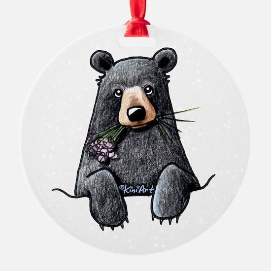 Pocket Black Bear Ornament