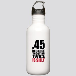 Gun Control Stainless Water Bottle 1.0L