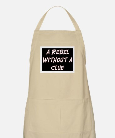 REBEL WITHOUT A CLUE Apron