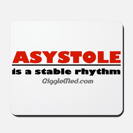 Asystole Mousepad