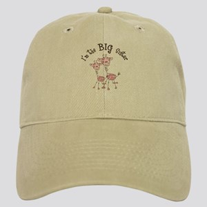 Big Sister Giraffes Baseball Cap
