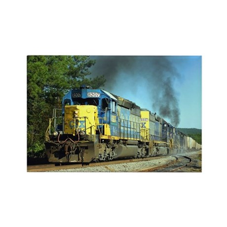 CSX Smoker Rectangle Magnet