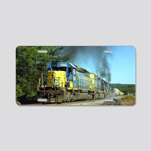CSX Smoker Aluminum License Plate