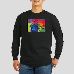 Wet Cows Long Sleeve Dark T-Shirt
