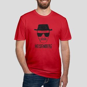 Heisenberg Men's Fitted T-Shirt (dark)