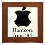 Hardcore from '84 Framed Tile