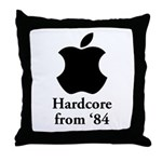 Hardcore from '84 Throw Pillow