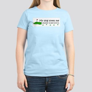 dog loves me-more dog breeds T-Shirt