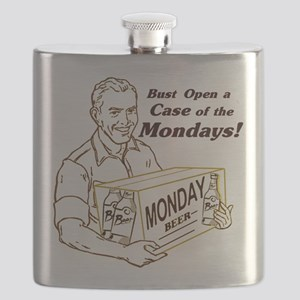 Case of the Mondays Flask