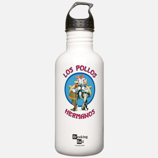 Los Pollos Hermanos Water Bottle