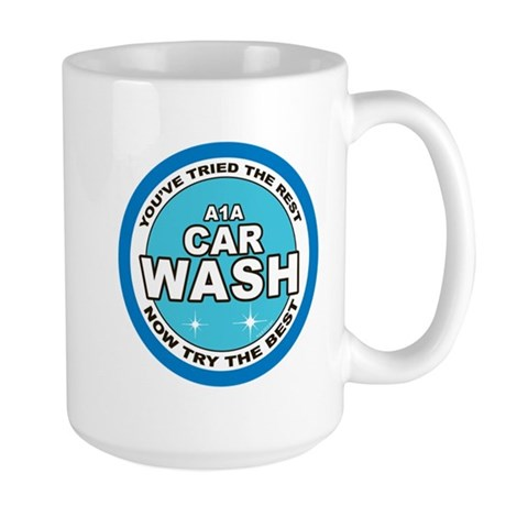 A1A Car Wash Large Mug