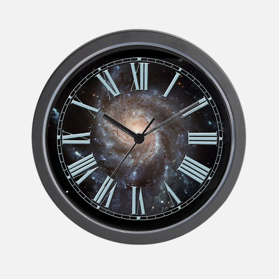 Pinwheel Galaxy Wall Clock