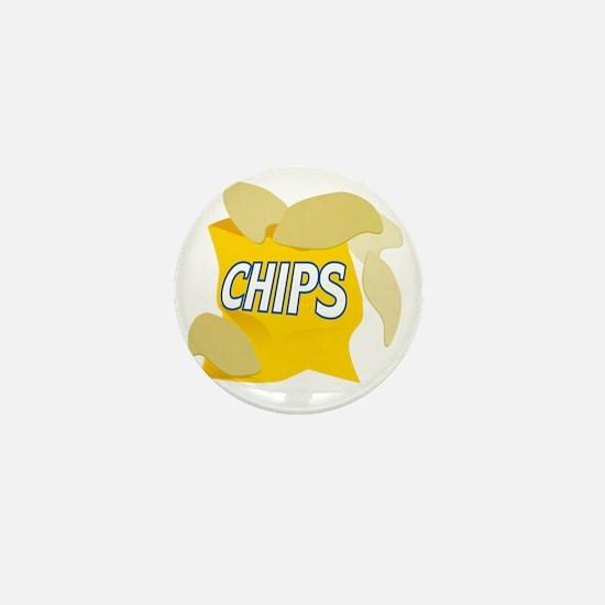 bag of potato chips Mini Button