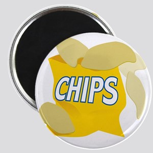 bag of potato chips Magnet