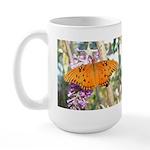 Beautiful Butterfly Print Large Mug