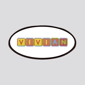 Vivian Foam Squares Patch