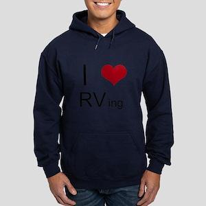 I love RVing Hoodie