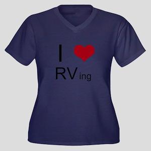I love RVing Plus Size T-Shirt