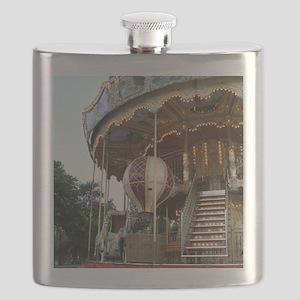Paris Carousel Flask